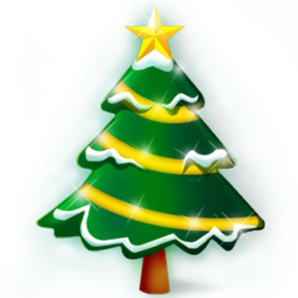 Christmas branches clipart picture royalty free library Christmas Tree Icon | Free Images at Clker.com - vector clip art ... picture royalty free library