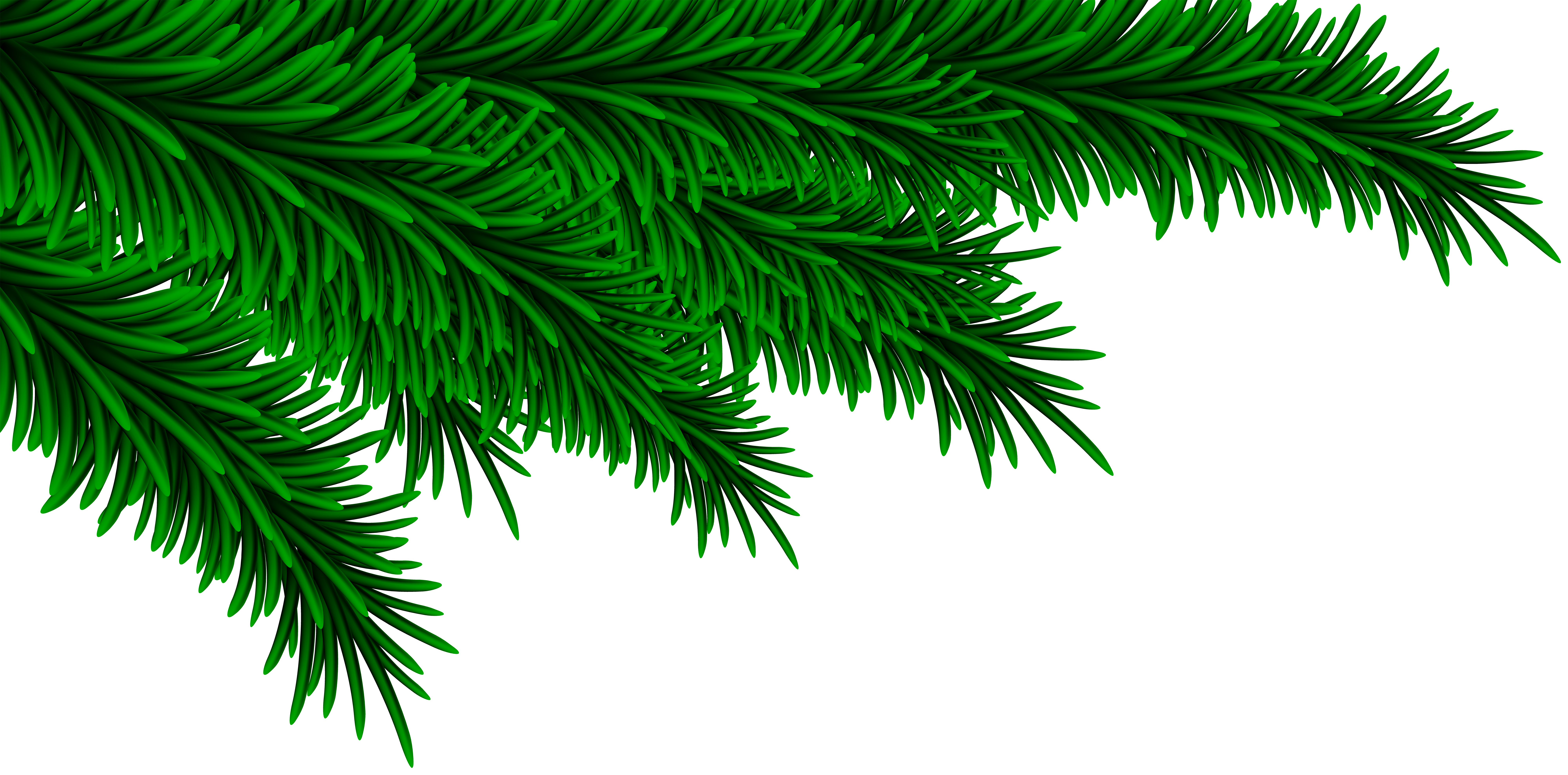 Christmas branches clipart graphic library library Christmas Pine Branches Decorating PNG Clip Art Image | Gallery ... graphic library library