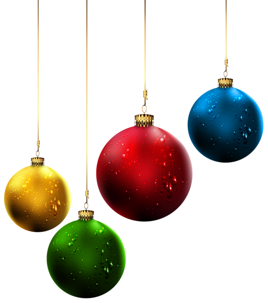 Christmas clipart png picture black and white download Christmas Balls PNG Clip-Art Image | Christmas Clipart | Pinterest ... picture black and white download