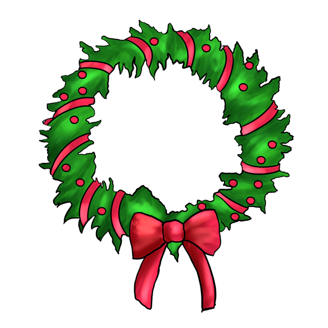 Christmas brunch clipart image freeuse DIY Holiday Wreath Class – Ida Grove image freeuse