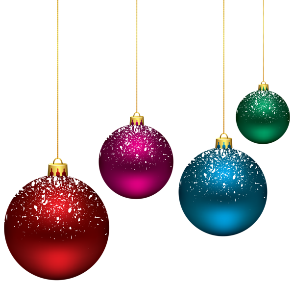 Christmas bulbs and cross clipart clipart free Christmas Snowy Balls PNG Clip-Art Image | Christmas Clipart ... clipart free