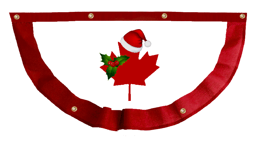 Christmas bunting clipart freeuse CP Launches 'Christmas in Canada' Bunting during fall sale - Canada ... freeuse