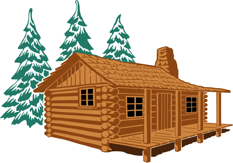 Christmas cabin clipart picture stock Cabin clip art free clipart images - Clipartix picture stock