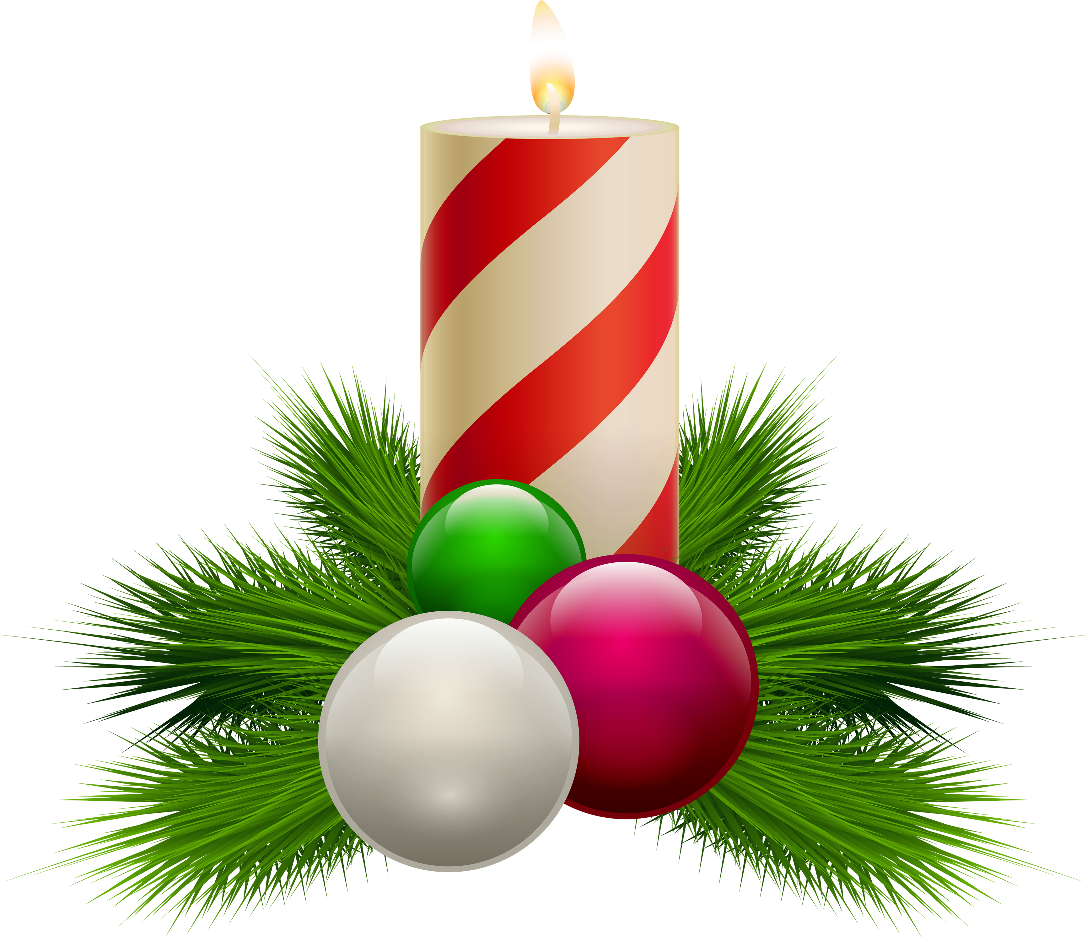Christmas candle clipart black and white image library Candles PNG images free download, candle PNG image image library