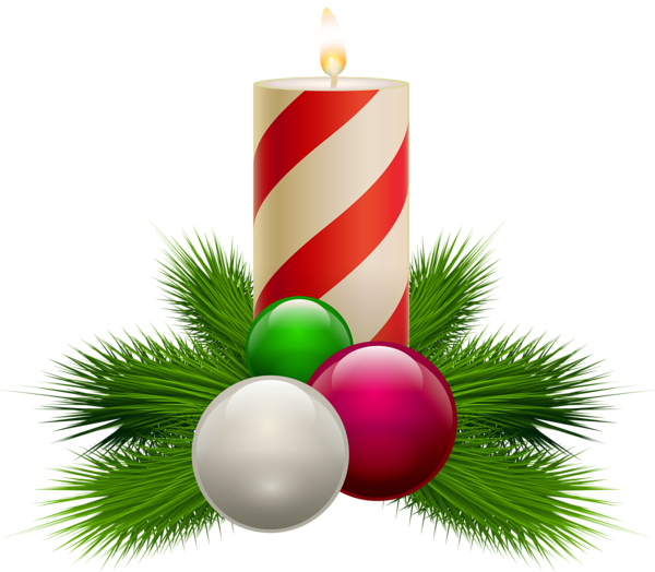 Christmas candlelight clipart clip art free library Transparent Christmas White Candle PNG Clipart | 3D CHRISTMAS PNG ... clip art free library