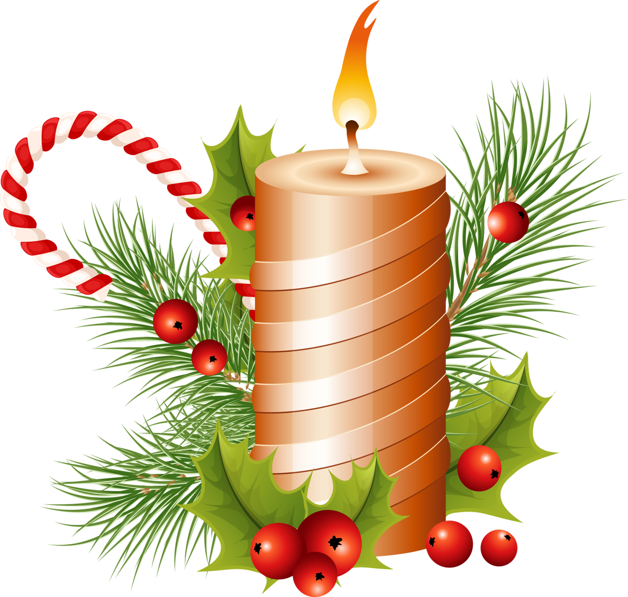 Christmas candles clipart picture library stock Candles PNG Clipart | Web Icons PNG picture library stock