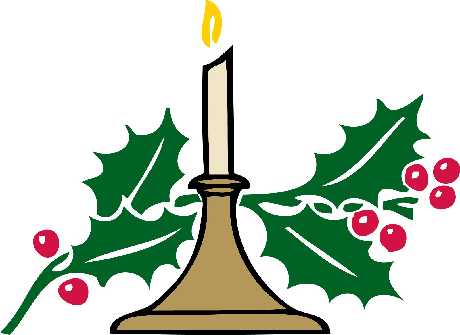 Christmas candles clipart clipart stock Christmas Candle Clipart | Clipart Panda - Free Clipart Images clipart stock