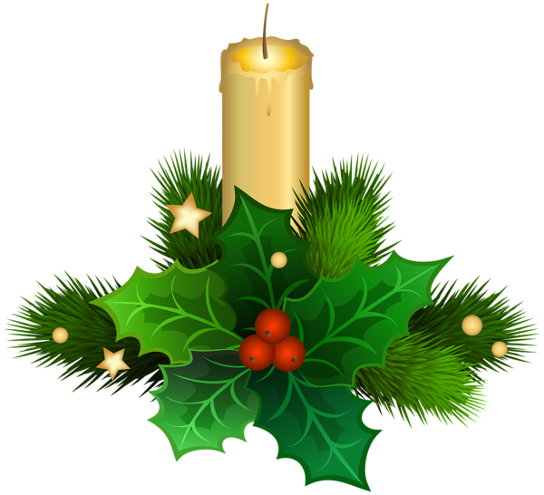 Christmas candles clipart svg library download Gallery - Free Clipart Pictures svg library download