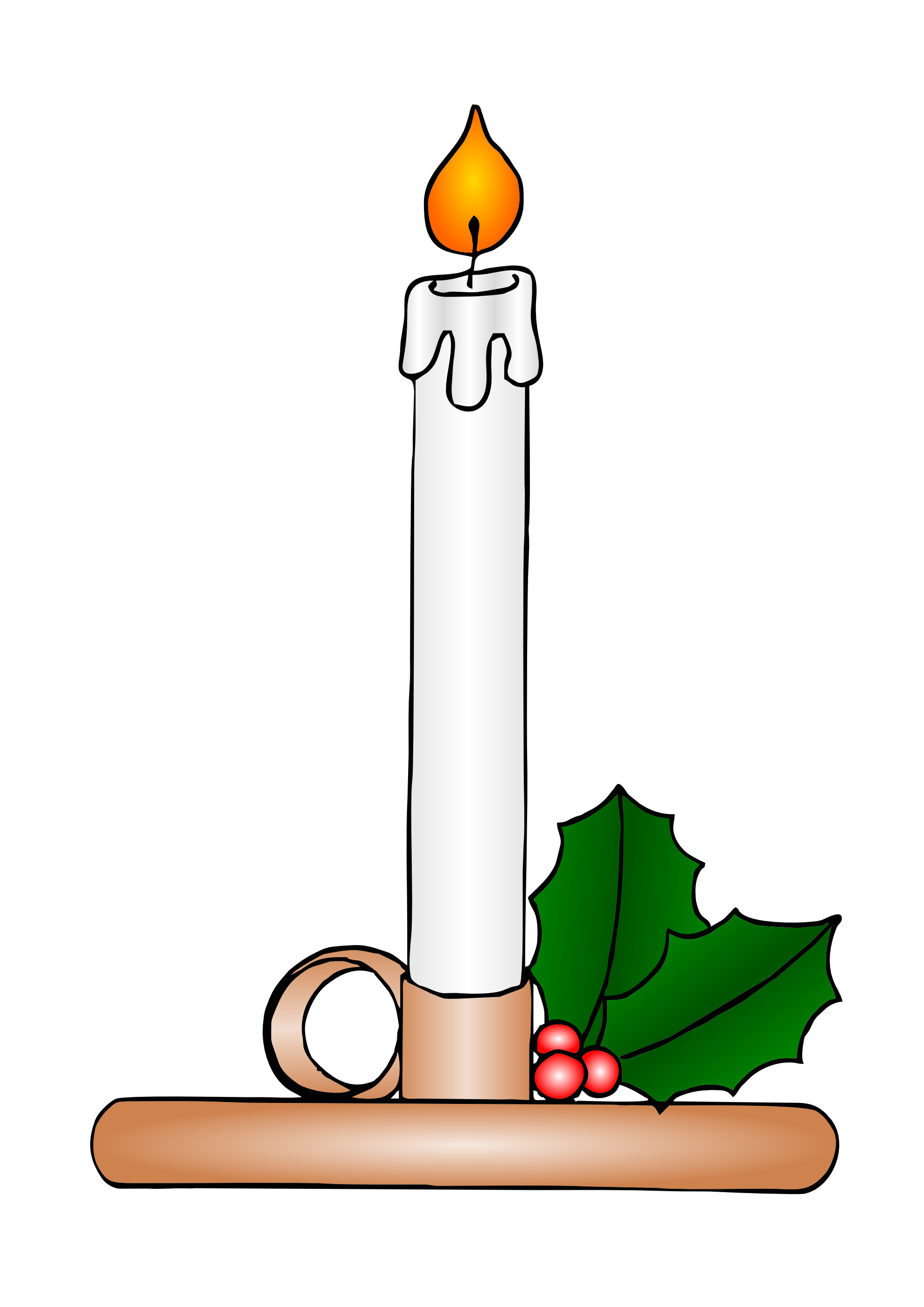 Christmas candles clipart black and white free clip transparent library Free Christmas Candles Clipart, Download Free Clip Art, Free Clip ... clip transparent library