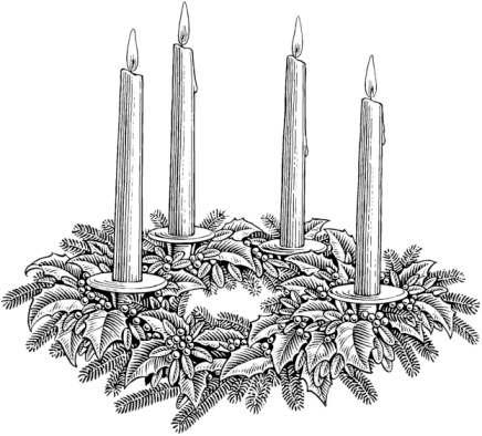 Christmas candles clipart black and white free graphic stock Free Christmas Candles Clipart, Download Free Clip Art, Free Clip ... graphic stock