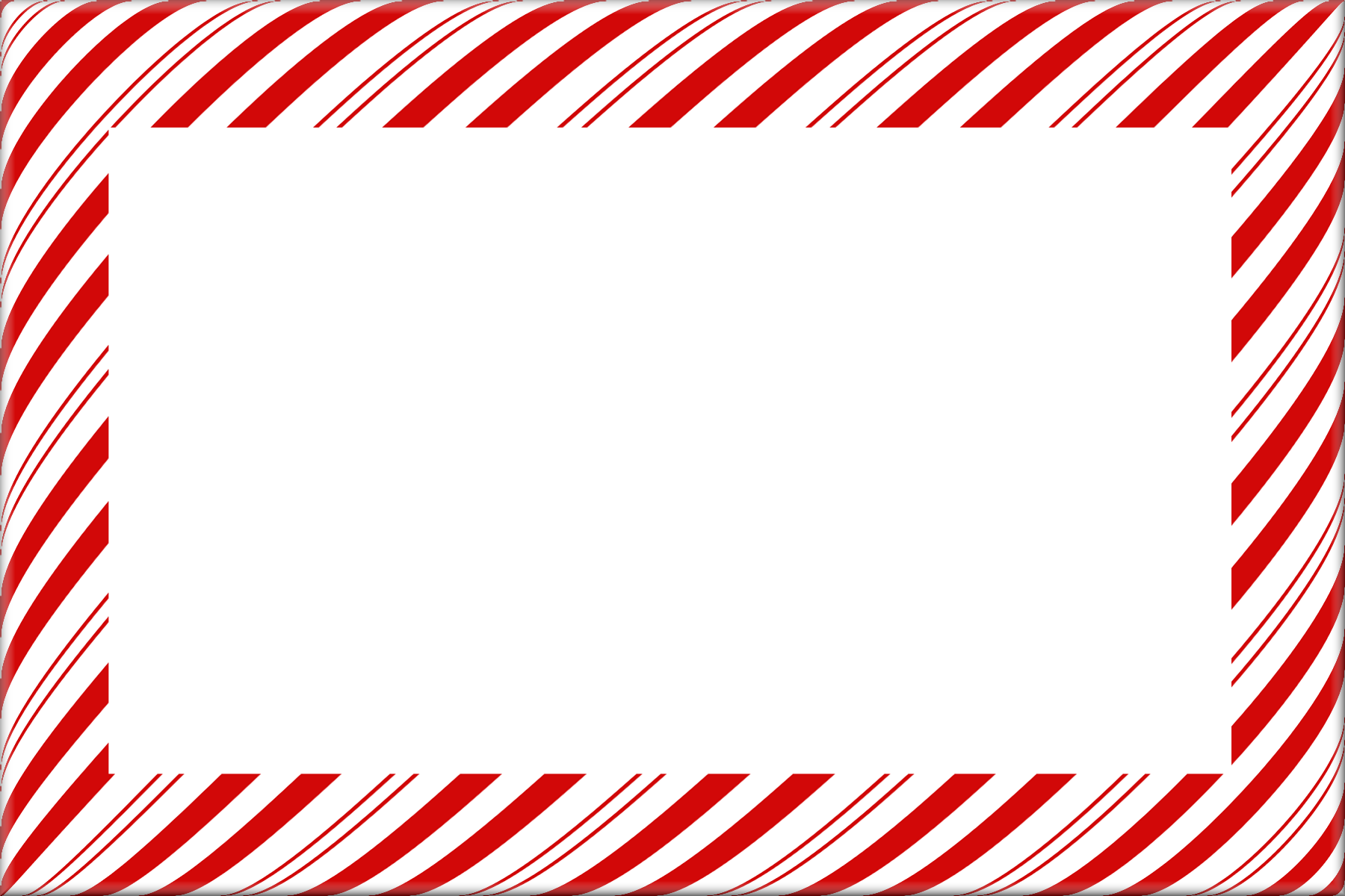 Cross clipart border image black and white library 28+ Collection of Candy Cane Clipart Border | High quality, free ... image black and white library