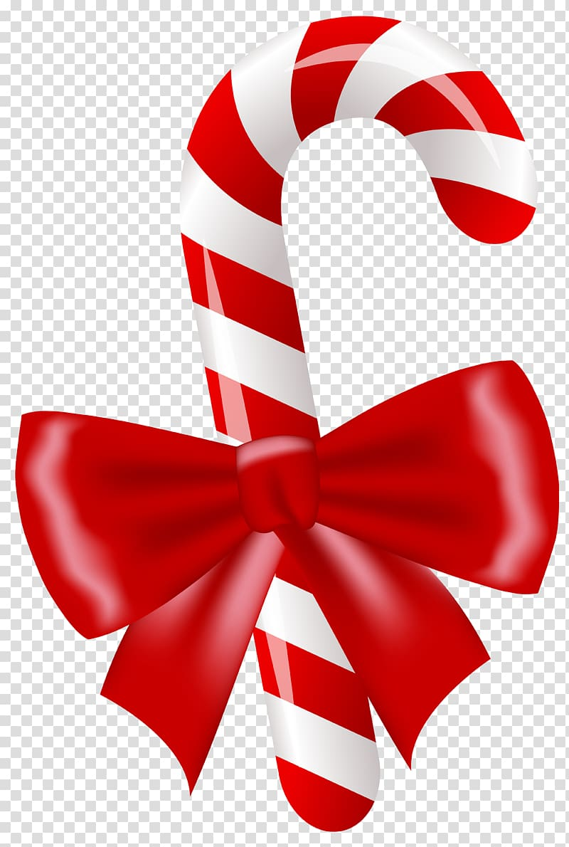 Two ball cane png clipart image royalty free Red and white candy cane illustration, Candy cane Lollipop ... image royalty free