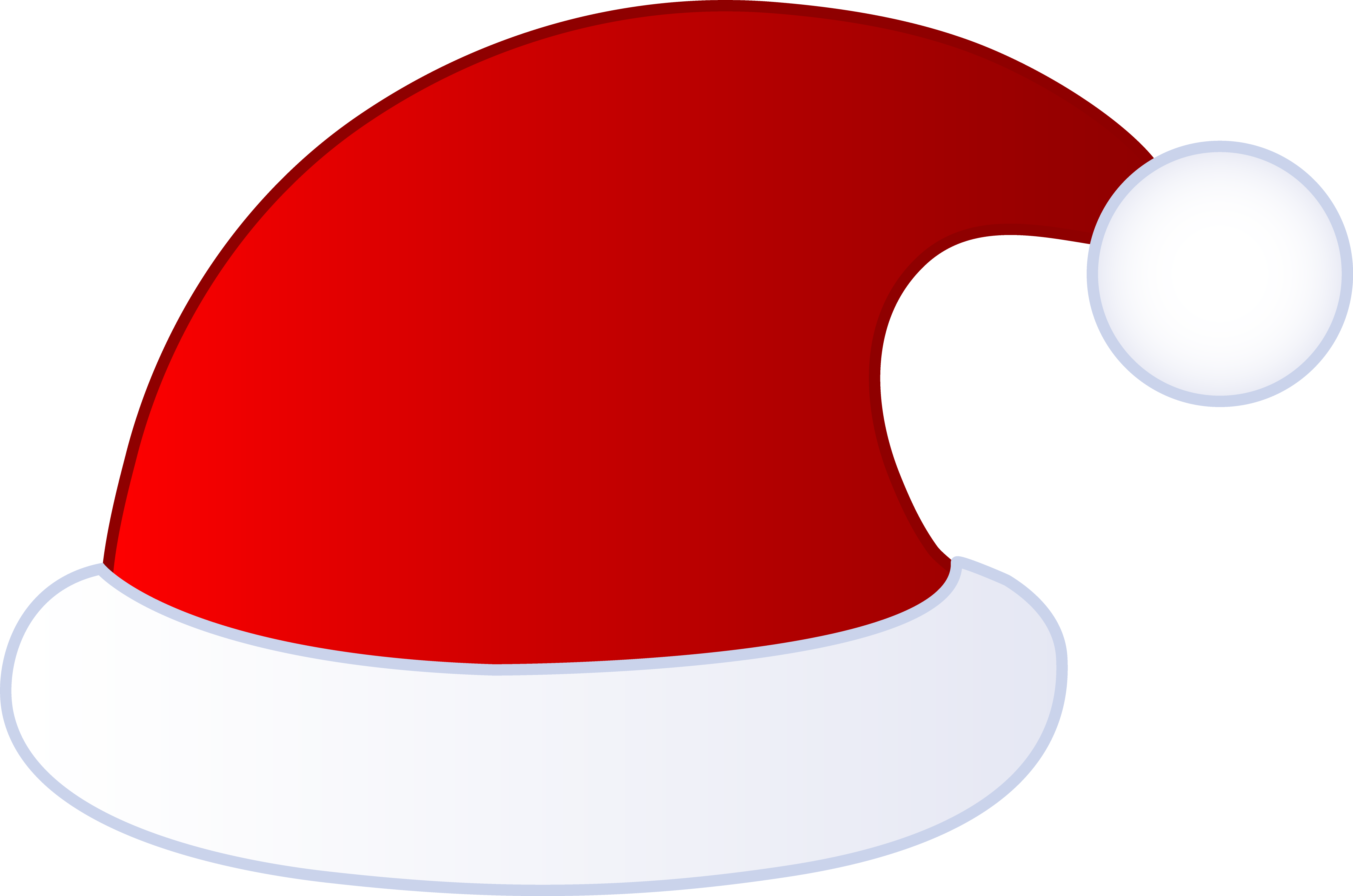 Elephant santa hat public domain clipart graphic freeuse download Free Santa Claus Cap, Download Free Clip Art, Free Clip Art on ... graphic freeuse download