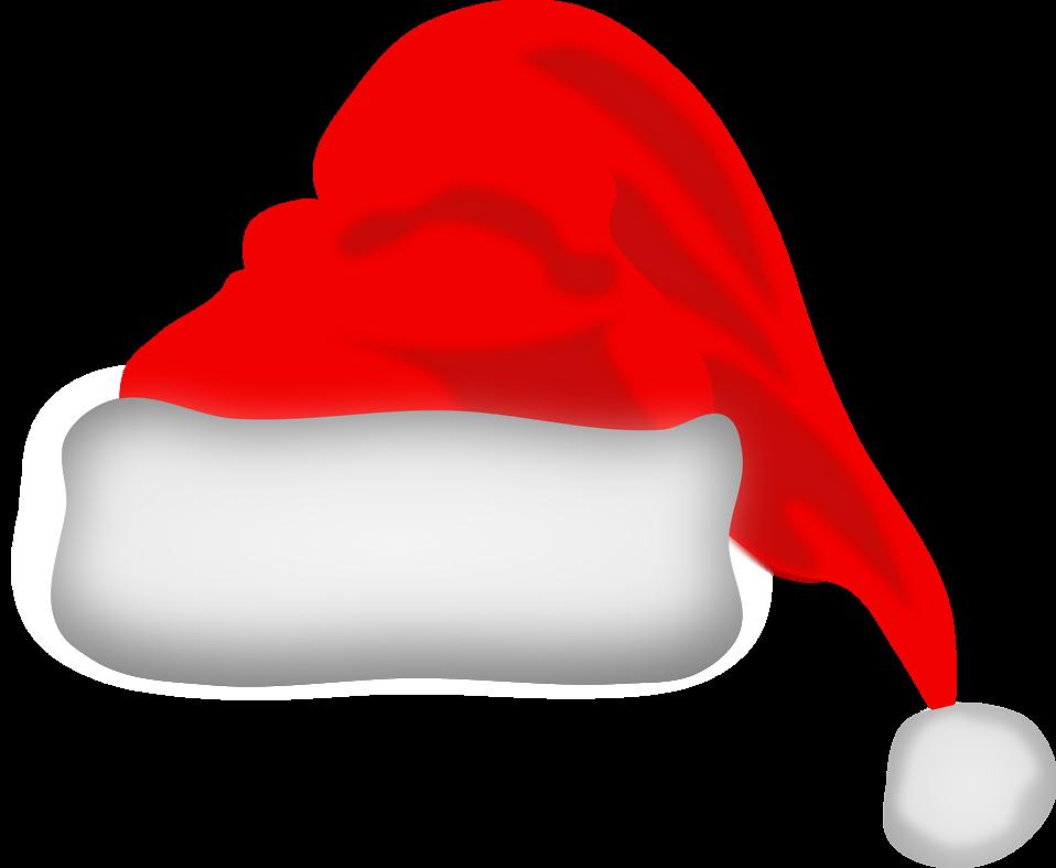 Christmas cap clipart vector library stock CHRISTMAS SANTA HAT CLIP ART | CLIP ART - CHRISTMAS 1 - CLIPART ... vector library stock