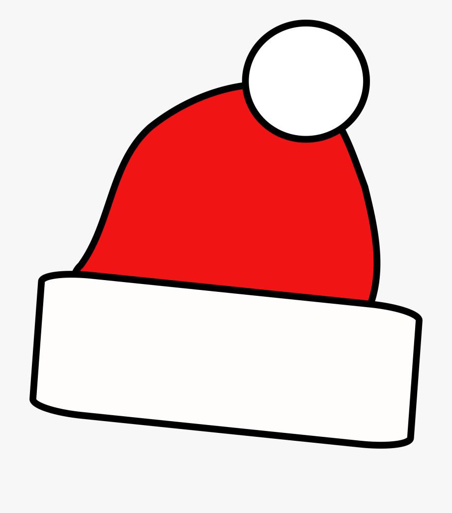 Christmas cap clipart clip art royalty free download Jpg Transparent Download Cap Clipart Christmas - Simple Santa Hat ... clip art royalty free download