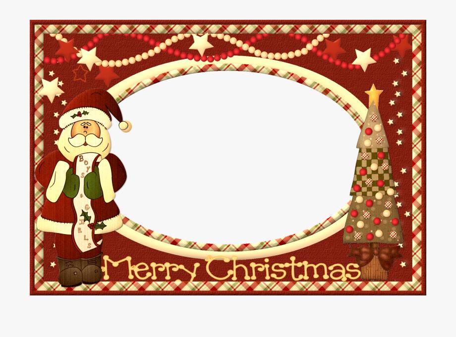 Christmas card borders clipart image royalty free Merry Christmas Clipart Photo Frame - Christmas Card Frame Gif ... image royalty free