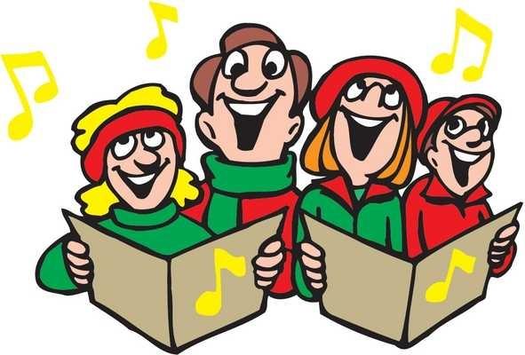 Christmas carol singers clipart free image black and white stock Singers Clipart Free | Free download best Singers Clipart Free on ... image black and white stock