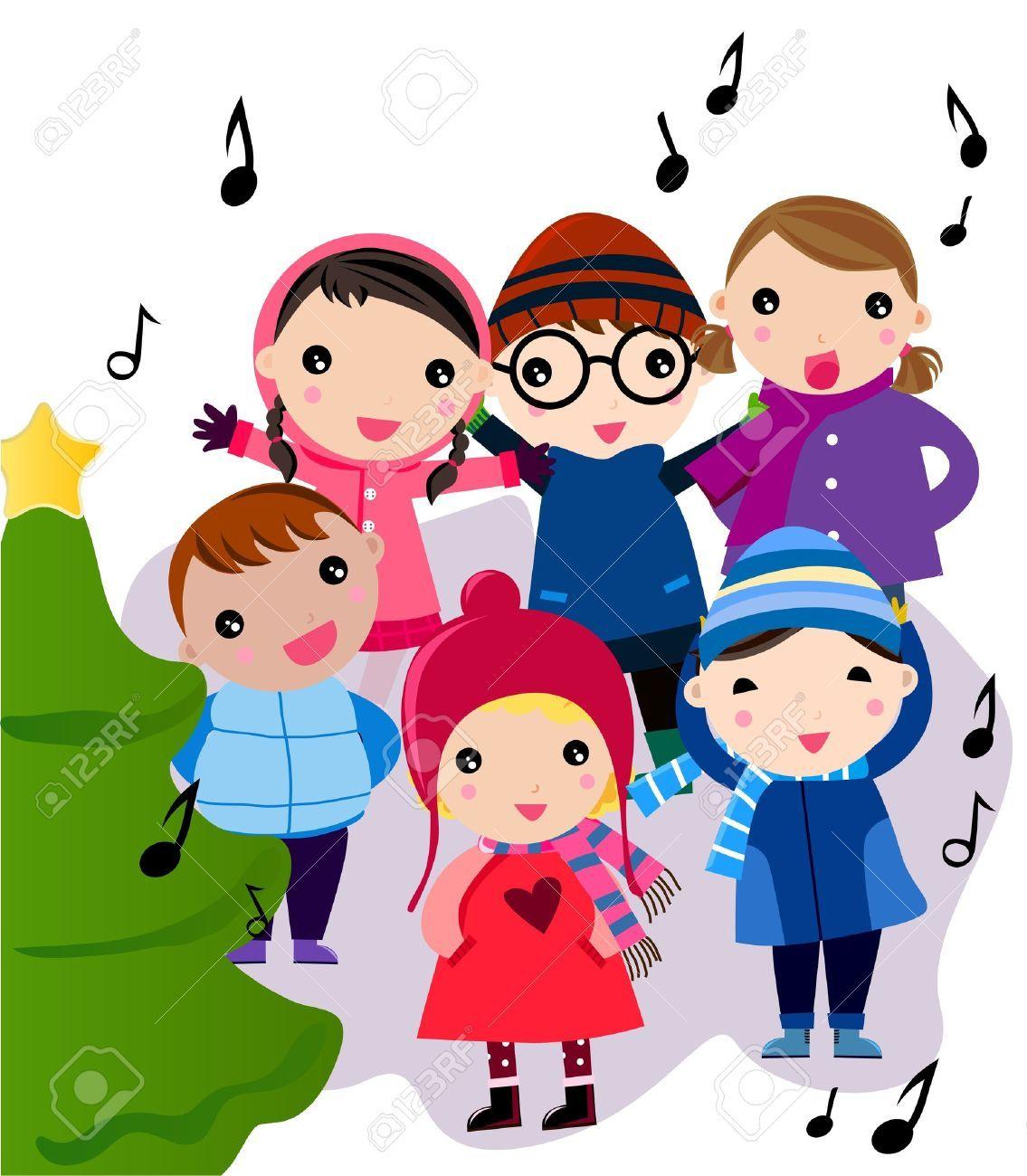 Christmas carol singing clipart clip royalty free stock Christmas carol singers clipart 7 » Clipart Portal clip royalty free stock