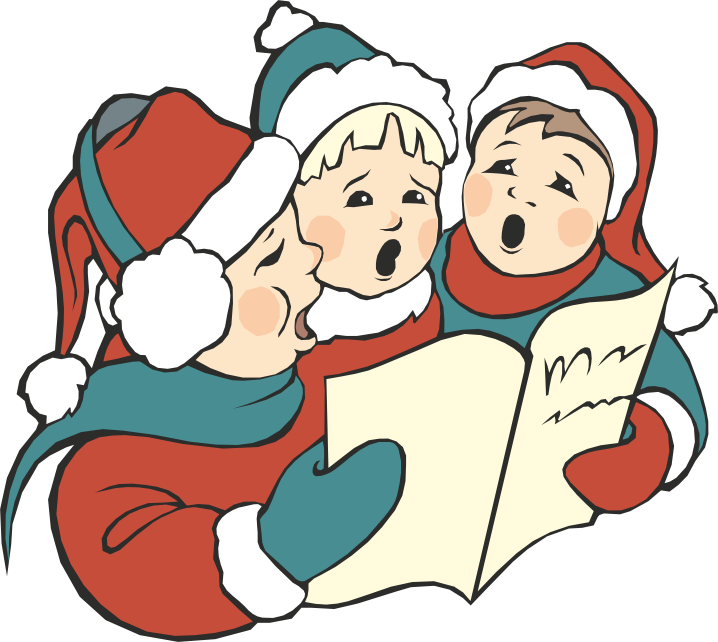 Christmas carolers clipart png free stock NYC Opera :: Christmas Caroling in Bryant Park - New Yorkled Magazine png free stock