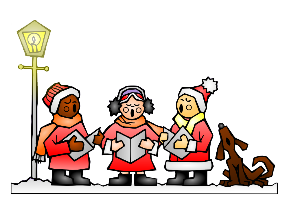 Christmas song clipart clip art freeuse download Christmas Caroling in Red Hook! — PortSide NewYork clip art freeuse download