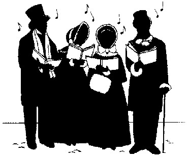 Christmas carollers clipart black and white banner library Free Christmas Cliparts Carolers, Download Free Clip Art, Free Clip ... banner library