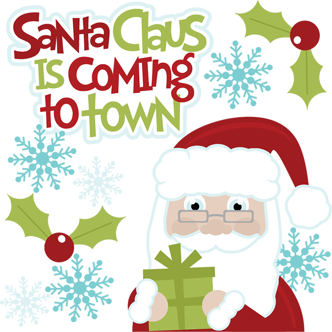 Christmas carolling clipart jpg stock Santa Claus is Coming to Town - Christmas Carols | Kids Christmas Songs jpg stock
