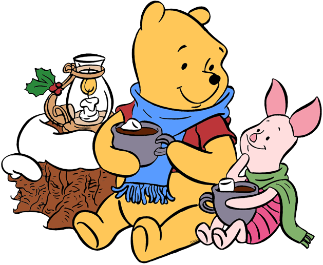 Christmas carolling clipart clipart freeuse Winnie the Pooh Christmas Clip Art | Disney Clip Art Galore clipart freeuse