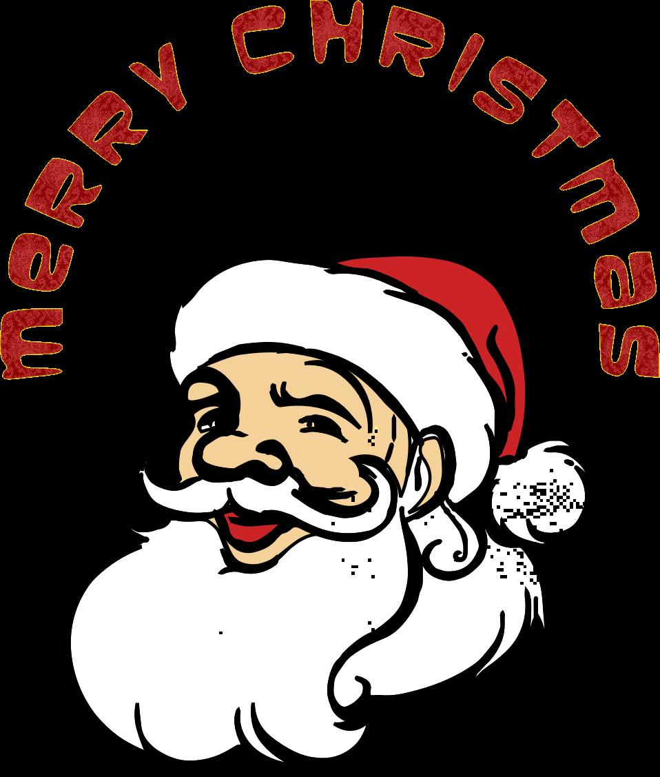 Christmas cartoon clipart clip download Clipart - Merry Christmas Santa Claus clip download