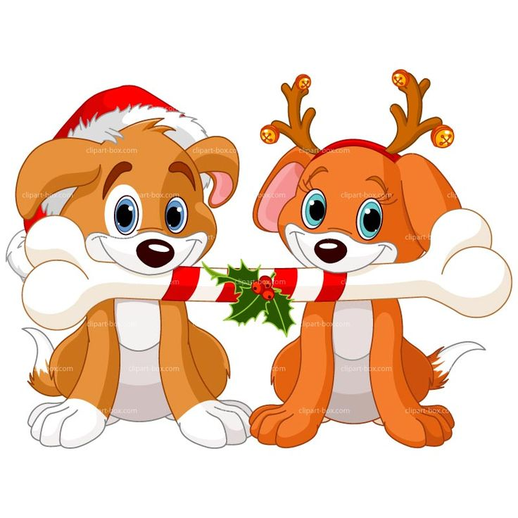 Two dogs clipart vector stock Cat Clipart Christmas | Free download best Cat Clipart Christmas on ... vector stock