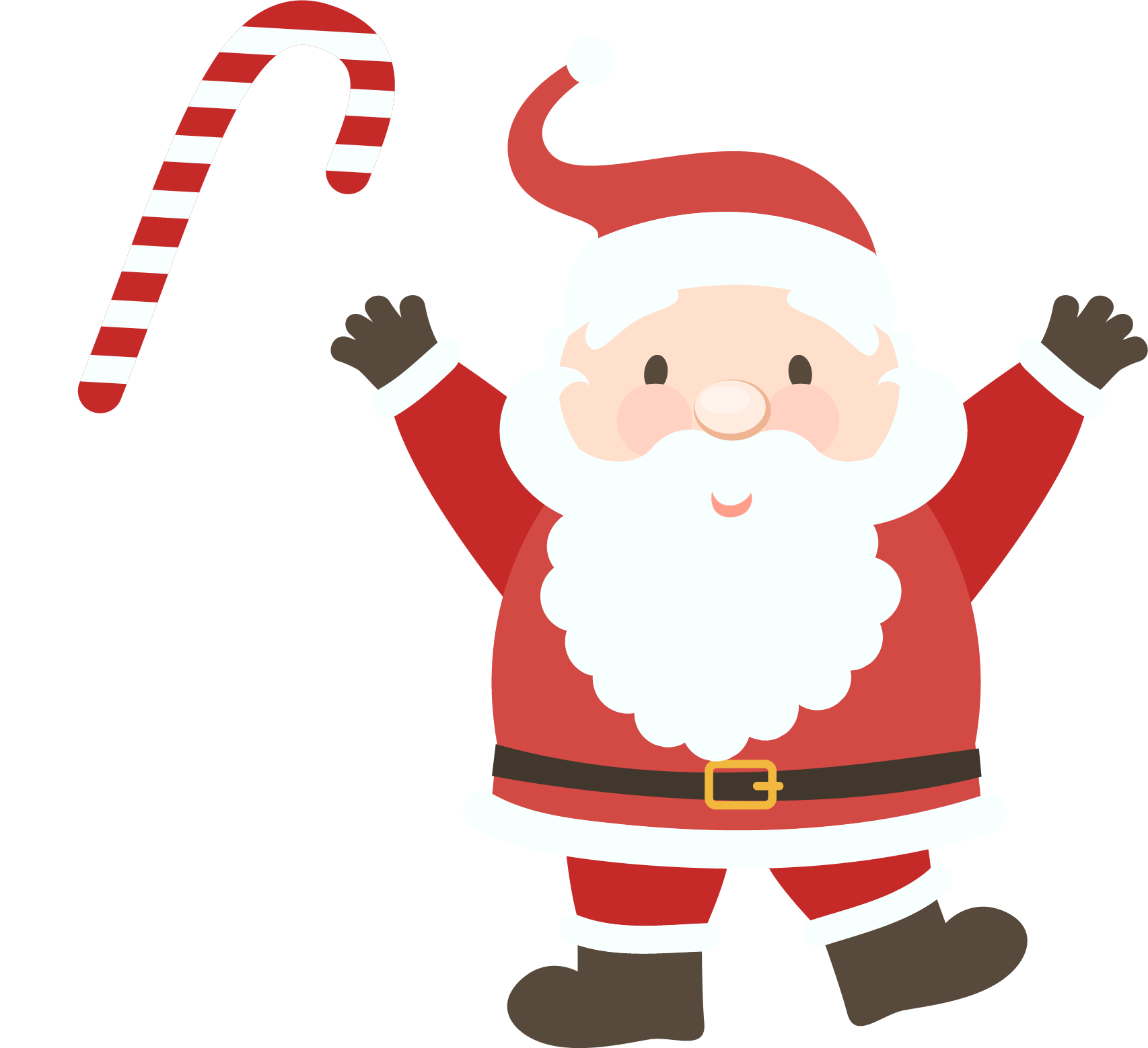 Christmas characters clipart graphic download Santa Claus PNG Transparent Free Images | PNG Only graphic download