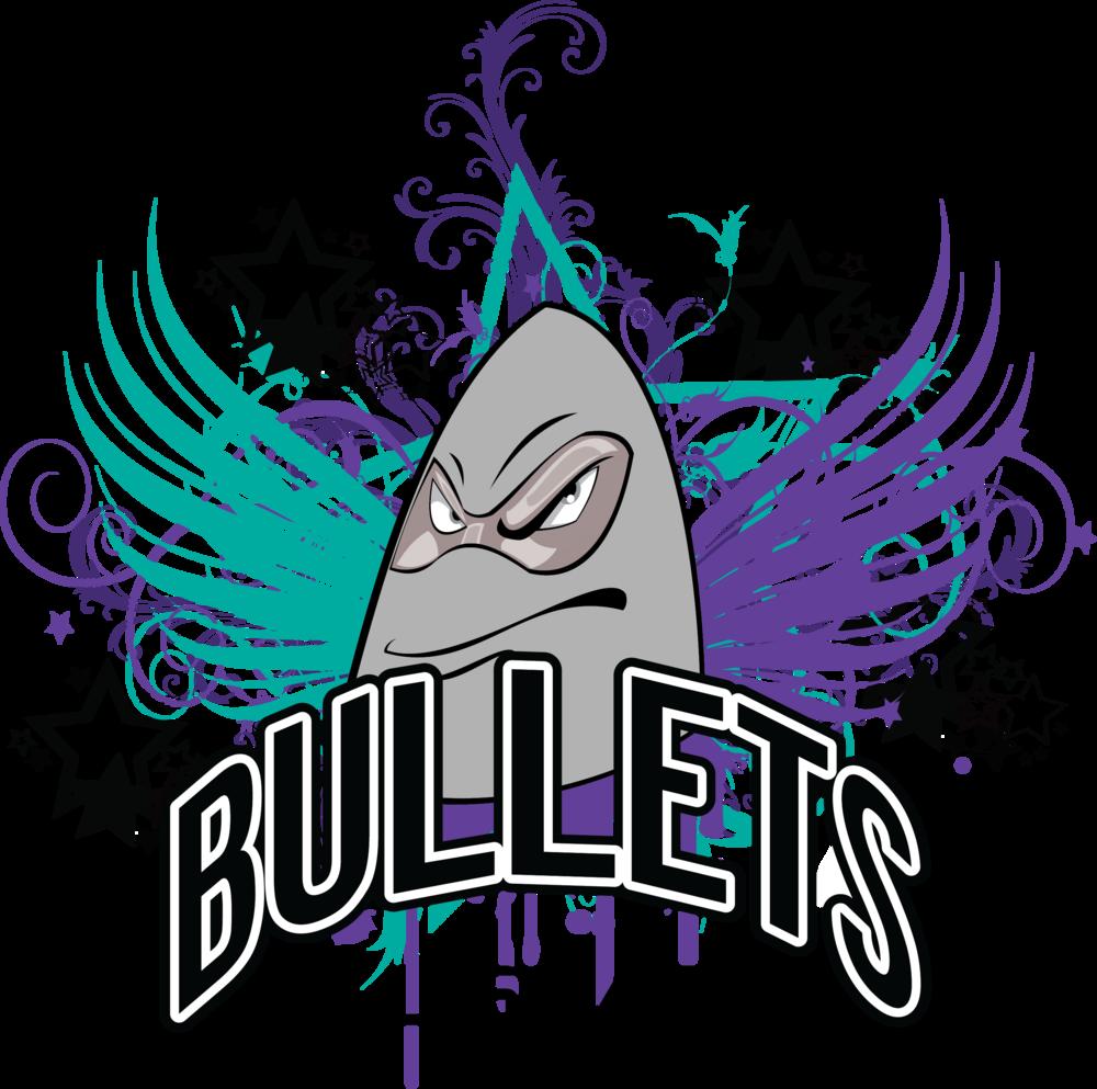 Christmas cheerleader clipart banner download Bullets Allstars banner download
