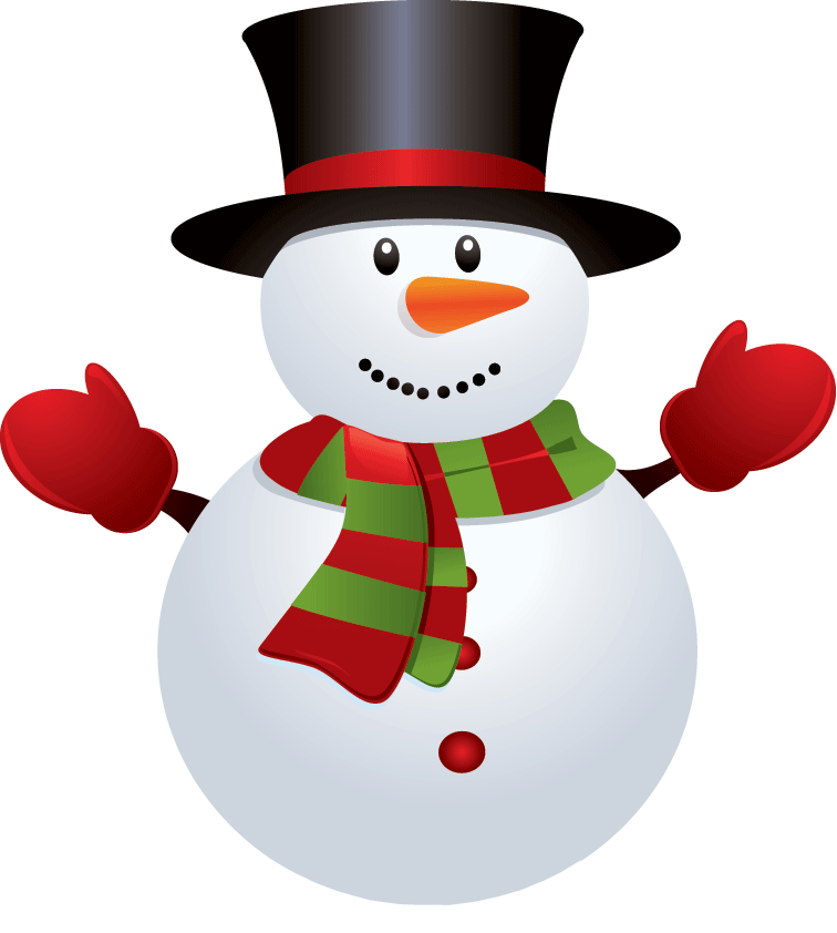 Christmas snowman clip art. Fancy basketball clipart
