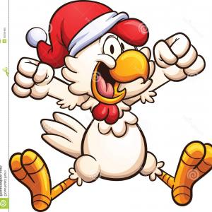 Christmas chicken images clipart clipart Christmas Snowman With Top Hat Vector Clipart | SOIDERGI clipart