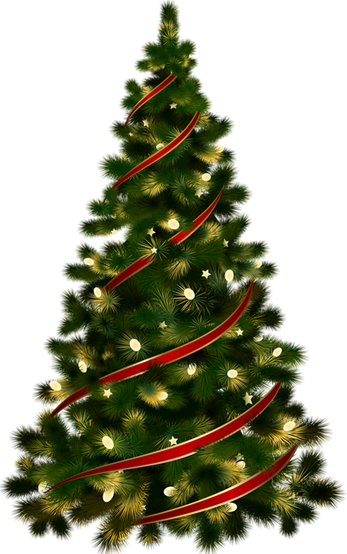 Christmas tree clipart black white picture transparent Christmas Tree Transparent PNG Pictures - Free Icons and PNG Backgrounds picture transparent