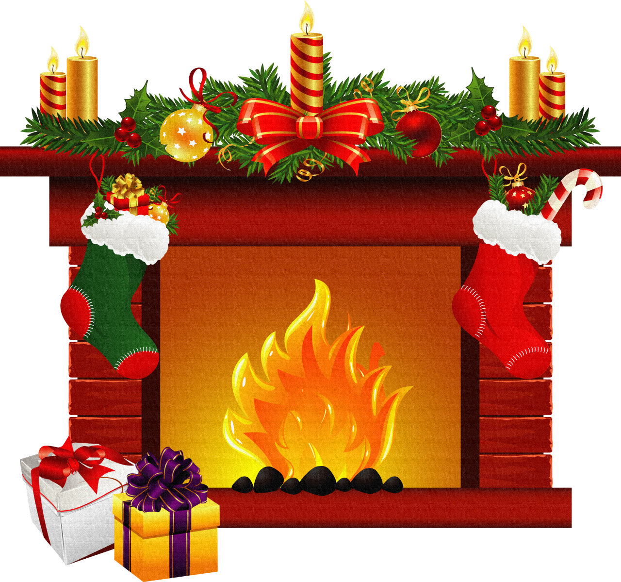 Wood house with chimney clipart clip royalty free stock Fireplace Clip Art #36605 | Blusas | Pinterest | Clip art, Christmas ... clip royalty free stock