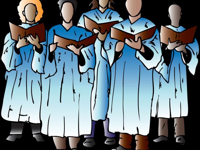 High school choir clipart png black and white stock Choir clipart speech choir FREE for download on rpelm png black and white stock