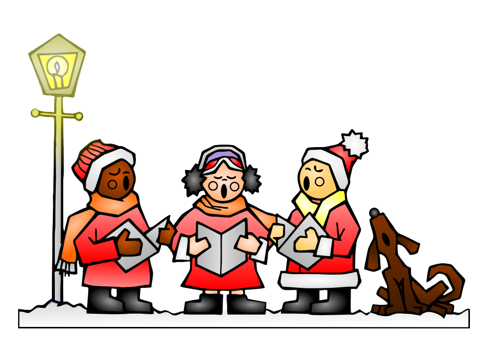 Christmas choir clipart jpg Christmas Carols Clipart – Fun for Christmas jpg