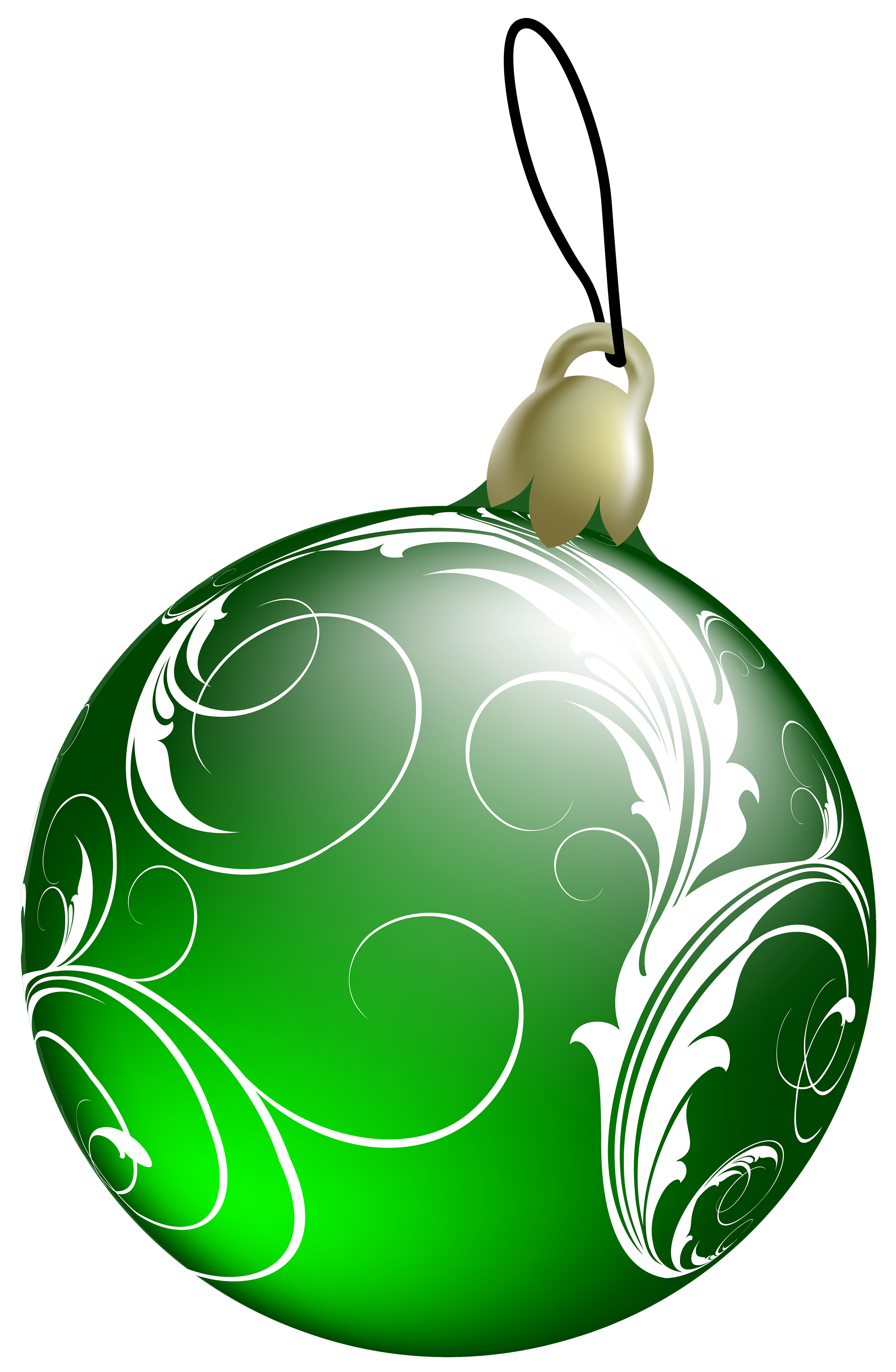 Green christmas ornament clipart clip download Beautiful Green Christmas Ball PNG Clipart - Best WEB Clipart clip download