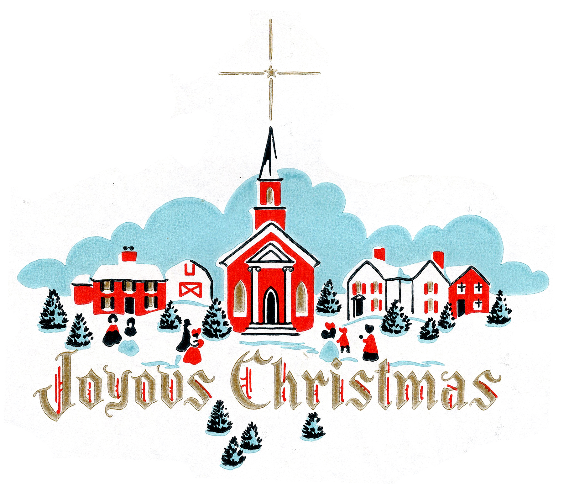 Christmas church announcements clipart clipart black and white stock Free Christmas Church Cliparts, Download Free Clip Art, Free Clip ... clipart black and white stock