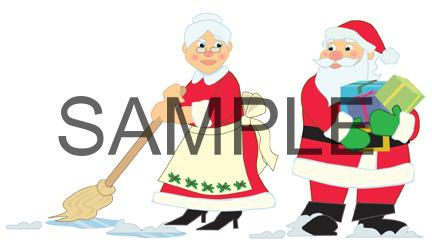 Christmas cleaning clipart clipart royalty free stock Holiday Clipart for Cleaning Companies clipart royalty free stock