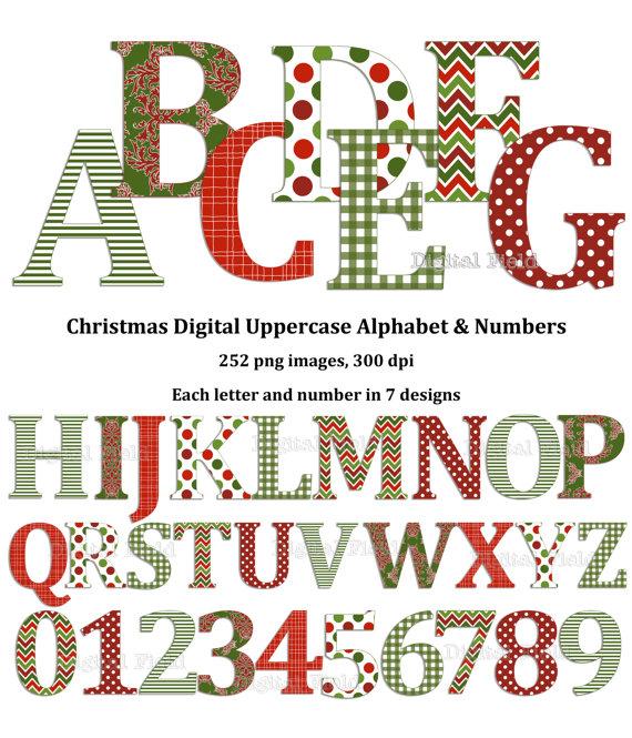 Christmas clip art alphabet letters clipart free Christmas Alphabet Clipart - Clipart Kid clipart free