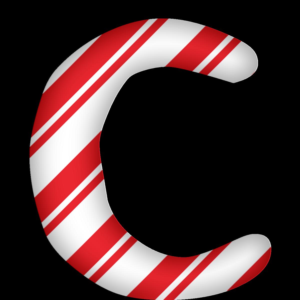 Christmas clip art alphabet letters clip transparent Santa Claus Candy cane Letter Alphabet - letters 1200*1200 ... clip transparent