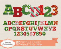 Christmas clip art alphabet letters vector freeuse library Christmas alphabet clip art free - ClipartFox vector freeuse library