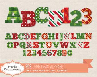 Christmas clip art letters. Free alphabet clipart clipartfox