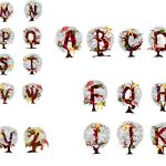 Alphabet clipart kid to. Christmas clip art letters