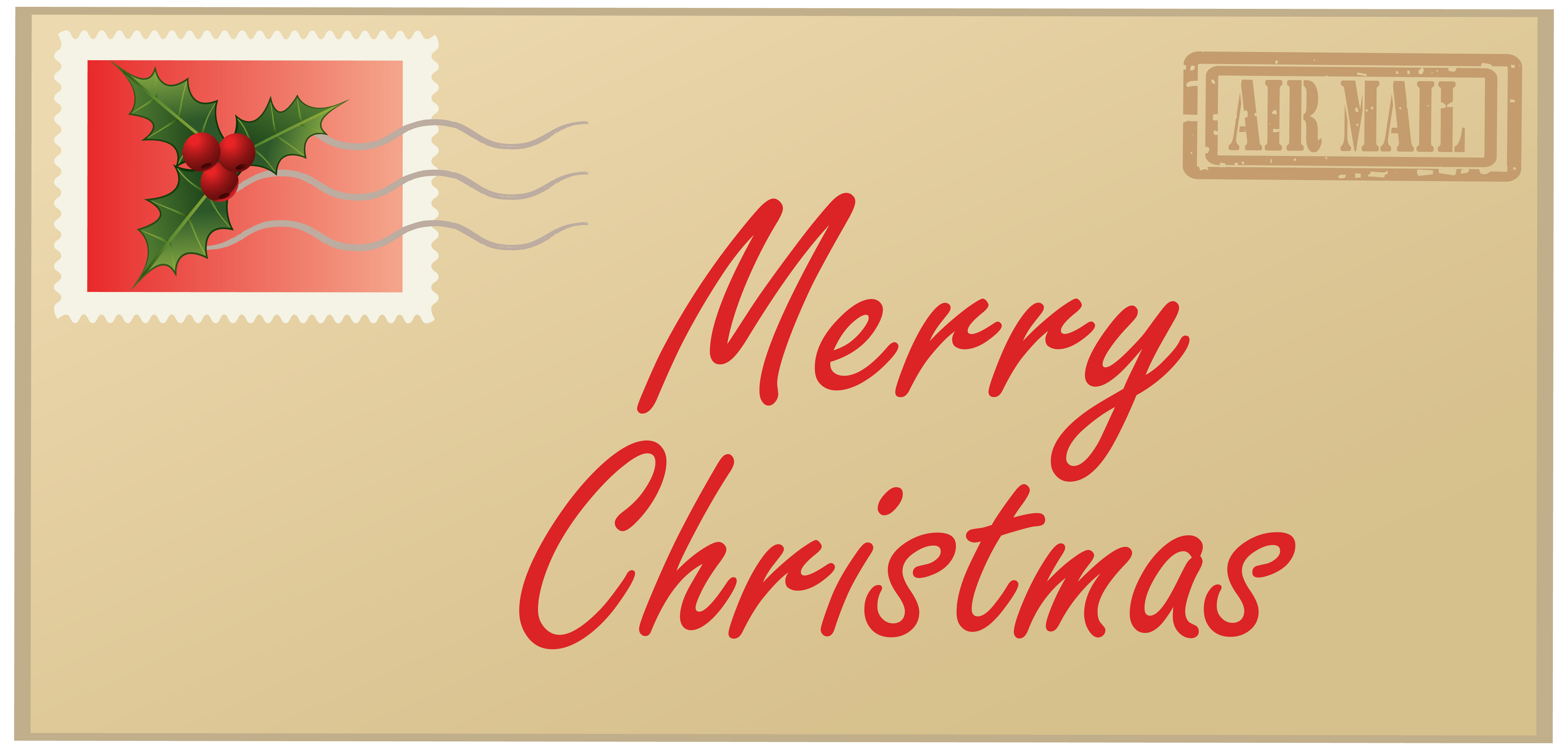 Christmas clip art letters vector library download Merry Christmas Letter PNG Clipart Image vector library download