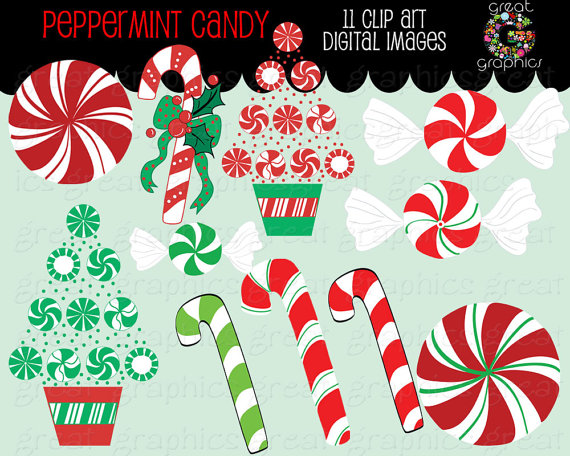 Christmas clip art printables graphic library library Christmas Candy Clip Art Christmas Clipart Peppermint Candy Clip ... graphic library library