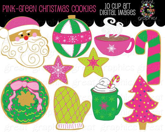 Christmas clip art printables clipart transparent download Christmas Cookie Clip Art Christmas Clipart Digital Christmas ... clipart transparent download