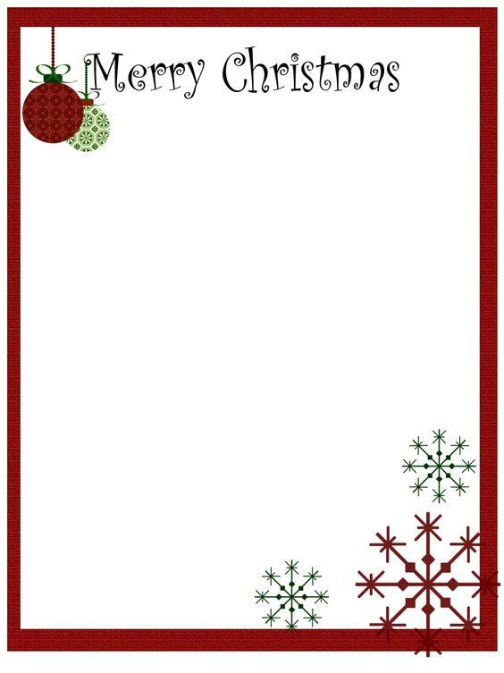 Christmas clip art printables clipart free library Free Christmas Clipart Borders Printable & Christmas Borders ... clipart free library
