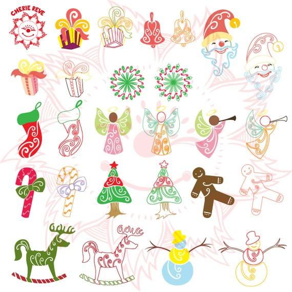 Christmas clip art printables graphic transparent Printable Christmas Clipart - Clipart Kid graphic transparent